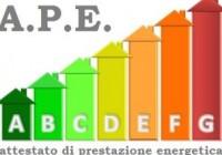 Il nuovo Attestato di Prestazione Energetica (APE)