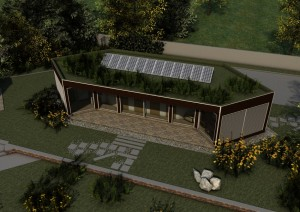 edificio a basso consumo energetico e elevato confort
