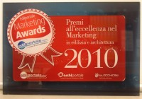 "WWW.CASESICURE.IT, Premiato all'Alcatraz di Milano per gli ""Edilportale Marketing Awards 2010"""