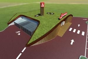 Progetto Ecogrill di Ravenna (Immagine CG 3D)