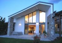 L'originale idea di Altrostudio Architetti: Cottage sul Lago di Como con il Solaio Plastbau Metal