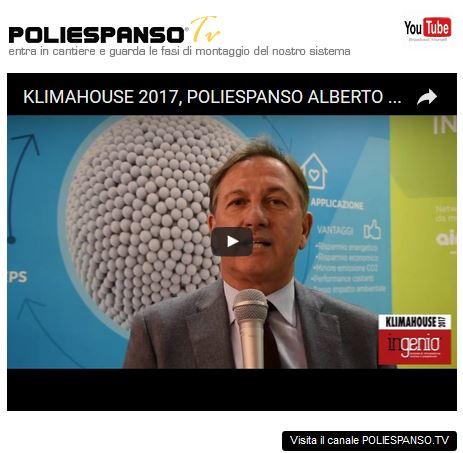 POLIESPANSO AL KLIMAHOUSE 2017