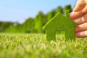 cam in edilizia: casa ecologica